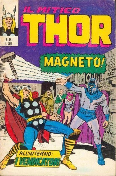 Couverture de MiticoThor (Il) -14- Magneto