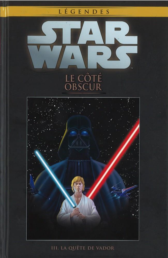 Couverture de Star Wars - Légendes - La Collection (Hachette) -40III- Le Côté Obscur - III. La Quête de Vador