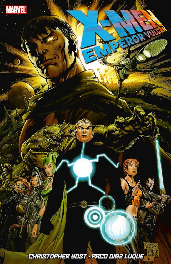 Couverture de X-Men: Emperor Vulcan (2007) -INT- Emperor Vulcan