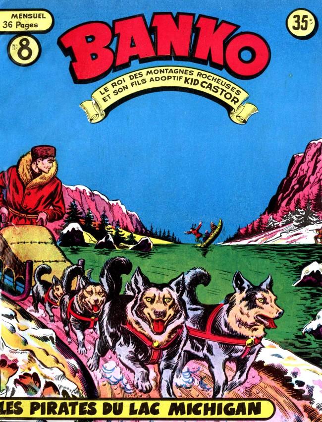 Couverture de Banko (1e Série - Remparts) -8- Les pirates du lac Michigan