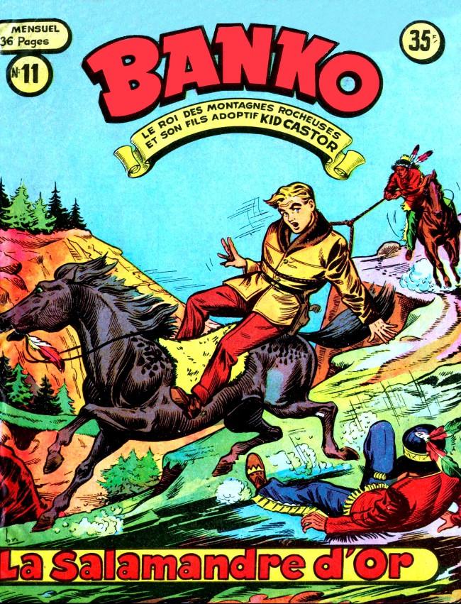 Couverture de Banko (1e Série - Remparts) -11- La salamandre d'or