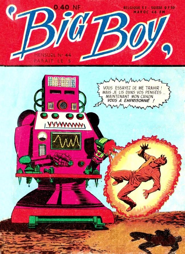Couverture de Big Boy -44- Captif du super-robot