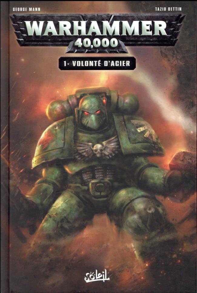 Couverture de Warhammer 40,000 (2e Série) -1- Volonté d'acier