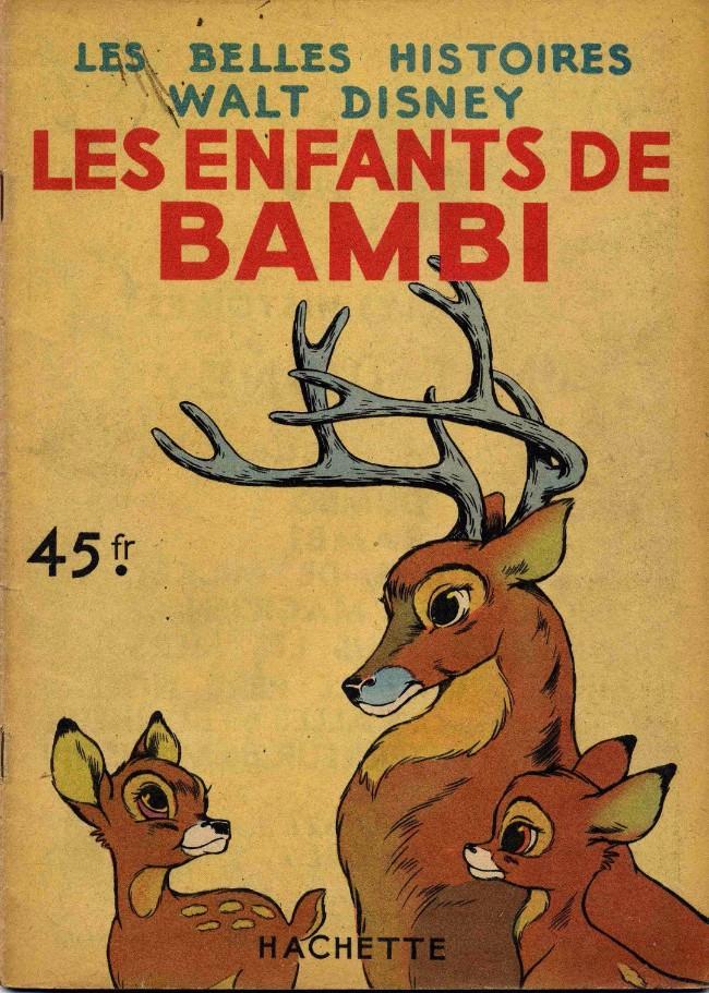 Couverture de Les belles histoires Walt Disney (1re Série) -9- Les enfants de Bambi