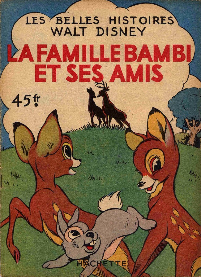 Couverture de Les belles histoires Walt Disney (1re Série) -11- La famille Bambi et ses amis