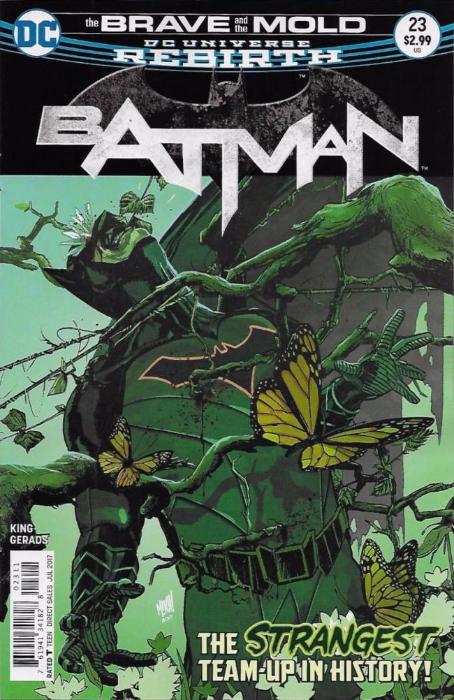 Couverture de Batman (2016) -23- The Brave and the Mold