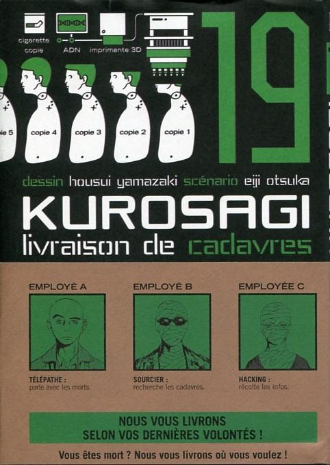 Couverture de Kurosagi, livraison de cadavres -19- Volume 19