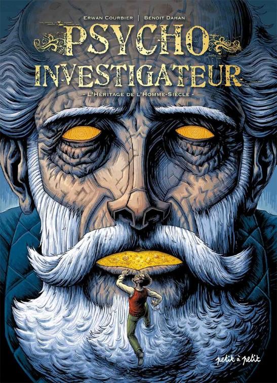 Couverture de Psycho-Investigateur / Simon Radius Psycho-Investigateur -2- L'Héritage de l'Homme-Siècle