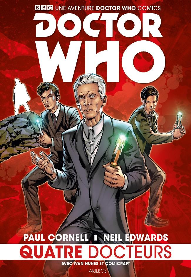Couverture de Doctor Who - Quatre Docteurs