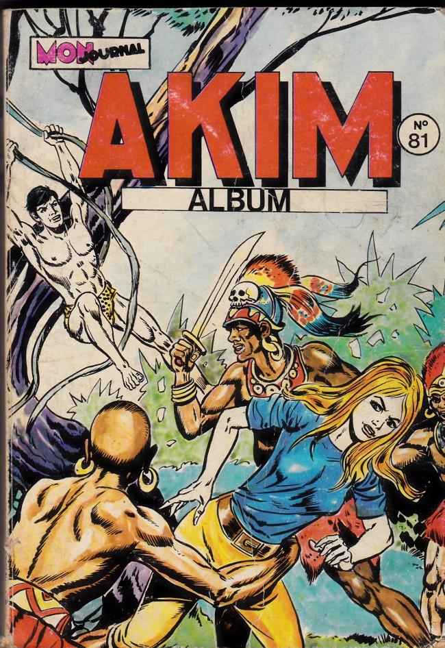Couverture de Akim (1re série) -Rec081- Album N°81 (du n°445 au n°448)