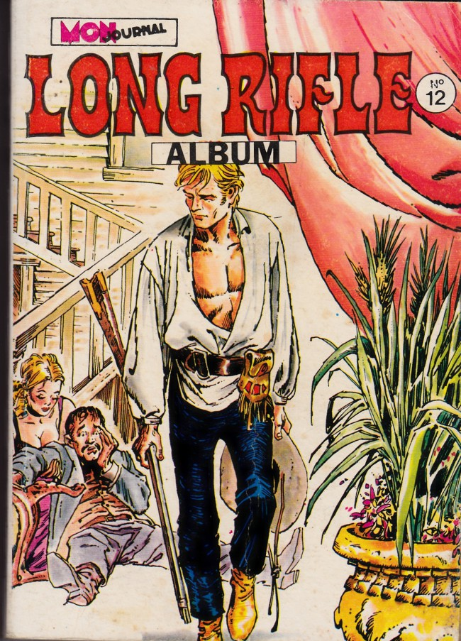 Couverture de Long Rifle -Rec12- Album N°12 (du n°34 au n°36)