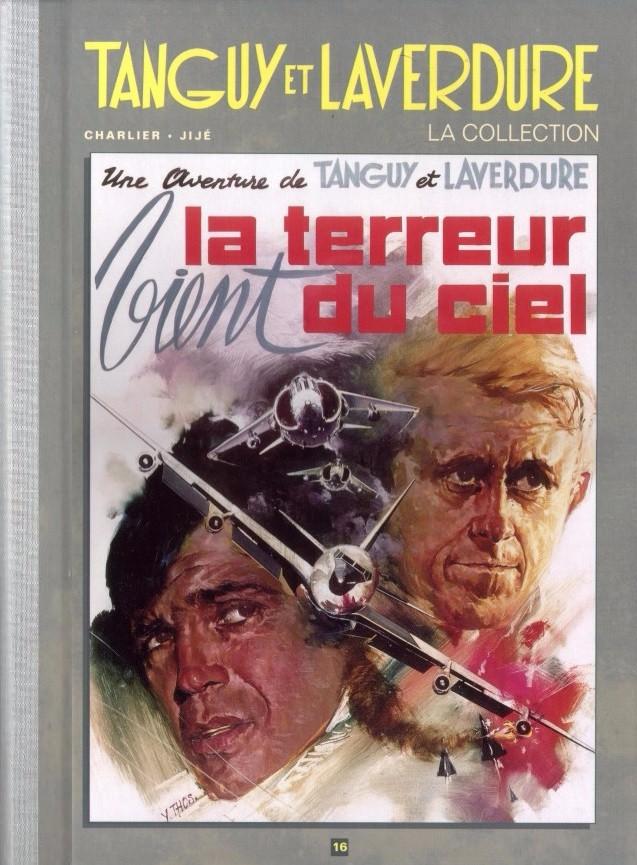 Couverture de Tanguy et Laverdure - La Collection (Hachette) -16- Le terreur vient du ciel