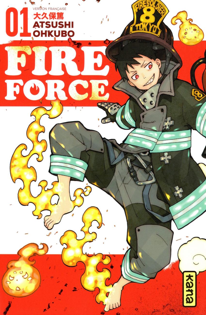 Couverture de Fire Force -1- Tome 1
