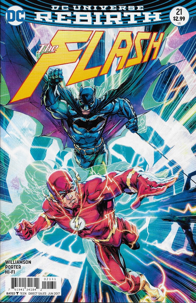 Couverture de Flash (The) (2016) -21- The Button: Part 2