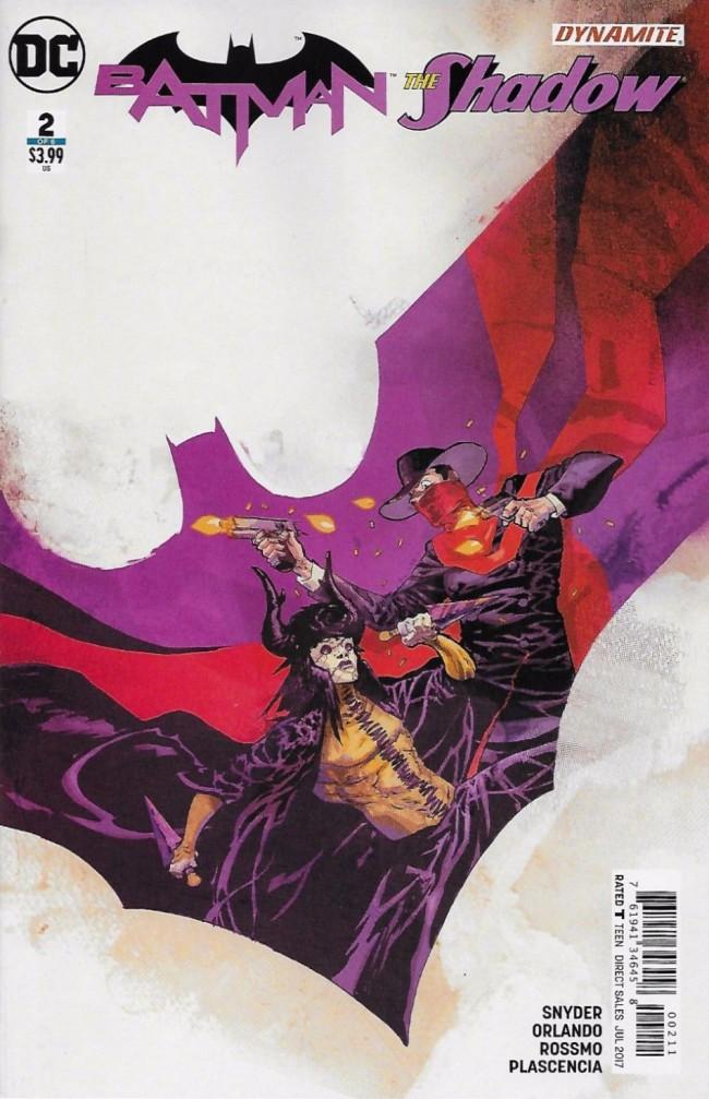 Couverture de Batman/The Shadow (2017) -2- Batman/The Shadow, Part Two
