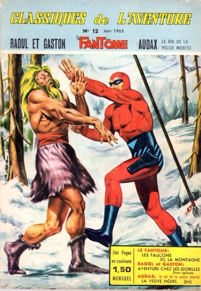Couverture de Les héros de l'aventure (Classiques de l'aventure, Puis) -12- Le Fantôme : Les faucons de la montagne