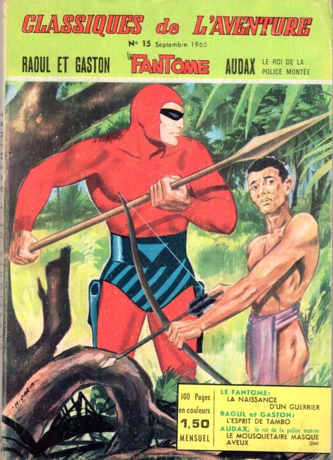 Couverture de Les héros de l'aventure (Classiques de l'aventure, Puis) -15- Le fantôme : la naissance d'un guerrier