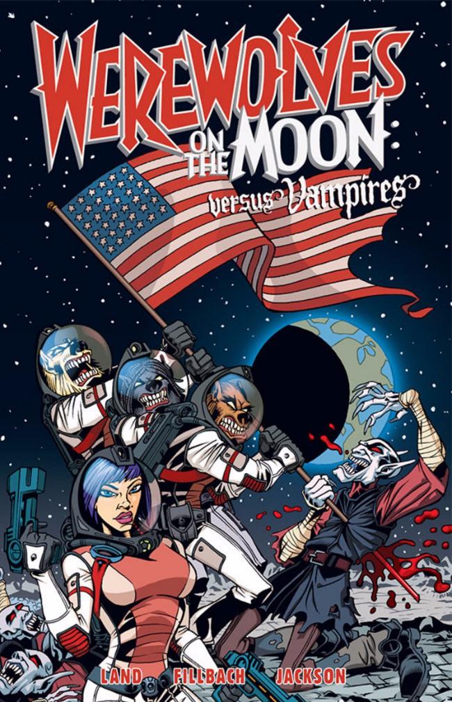 Couverture de Werewolves on the Moon: Versus Vampires (2009) -INT- Werewolves on the Moon: Versus Vampires