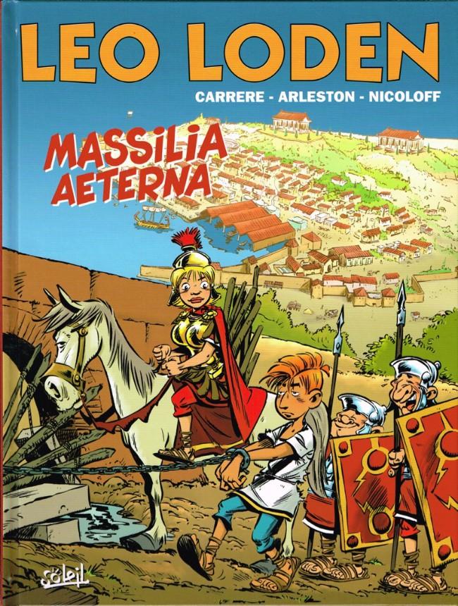 Couverture de Léo Loden -25- Massilia Æterna