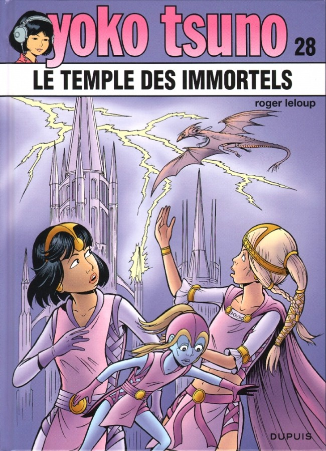 Couverture de Yoko Tsuno -28- Le temple des immortels