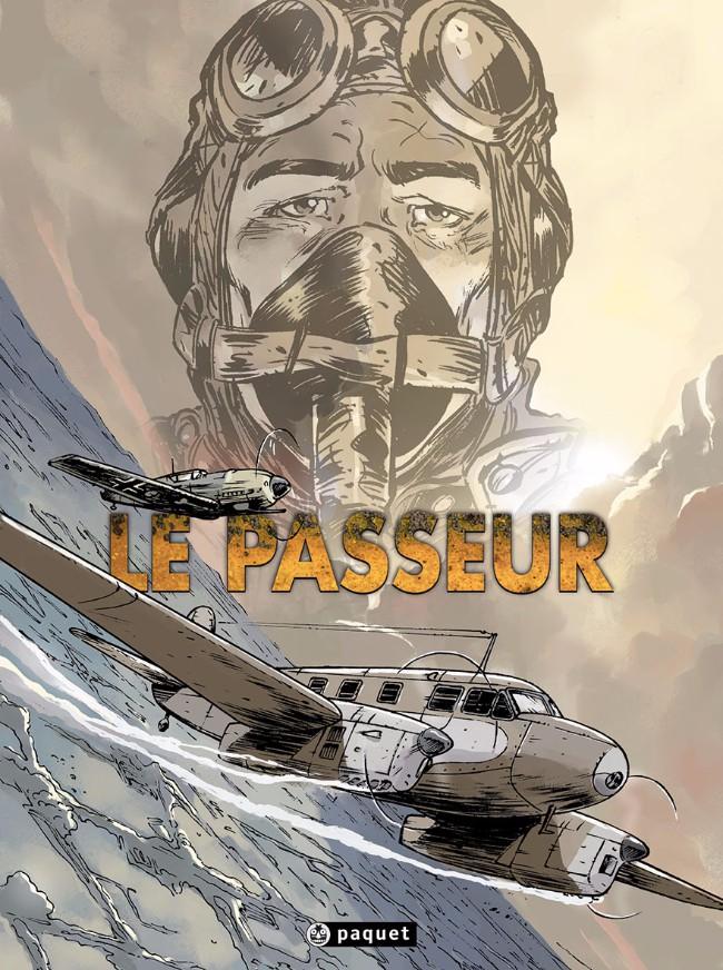 Couverture de Le passeur (Verelst/Bingono) -INT- Le Passeur
