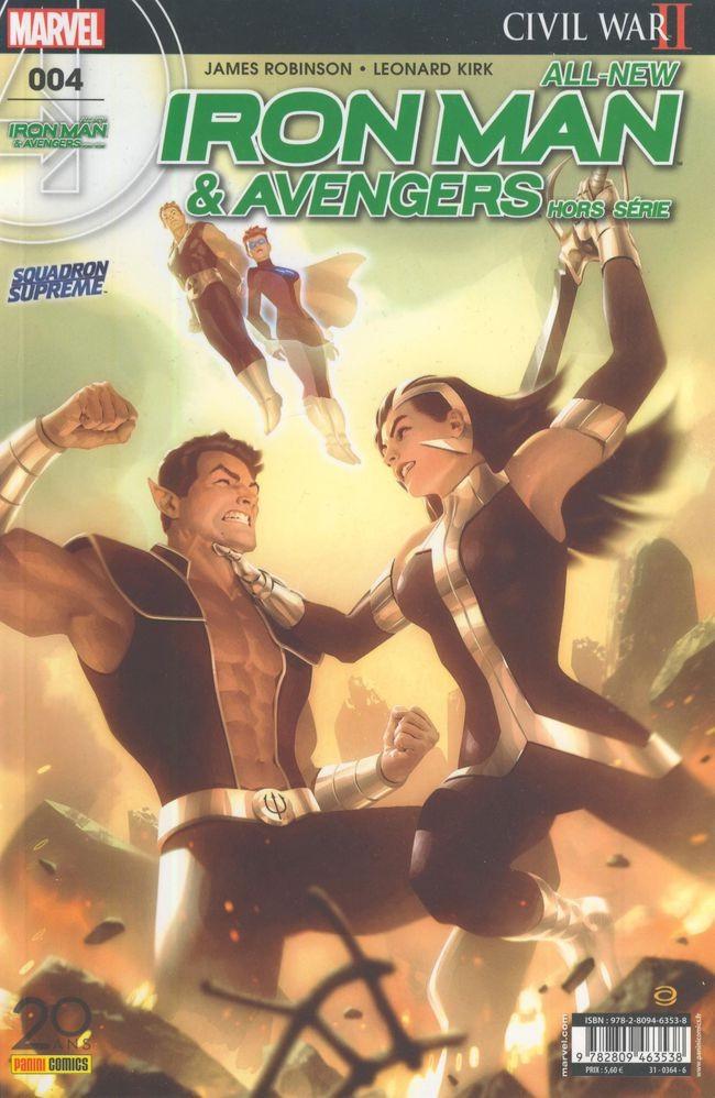 Couverture de All-New Iron Man & Avengers -HS04- Trouver Namor