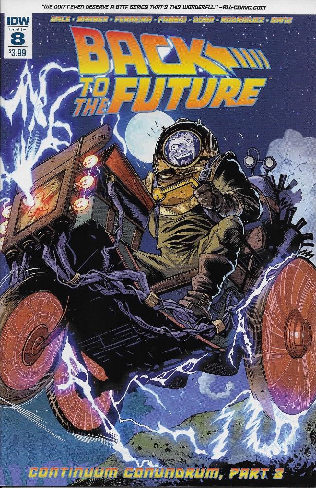 Couverture de Back to the Future (2015) -8- Continuum Conundrum - Part 3