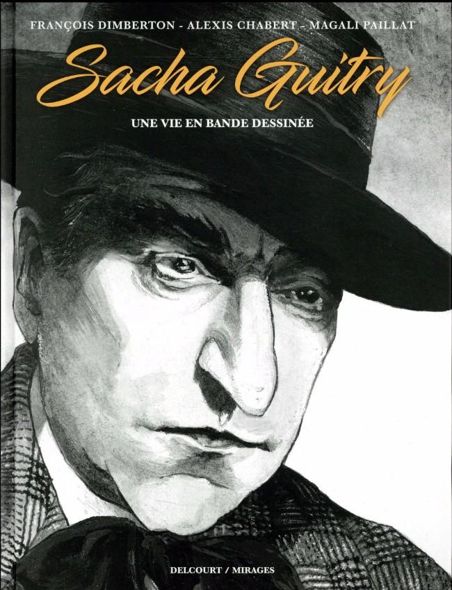 Sacha Guitry, une vie en bande dessinée sur Bookys