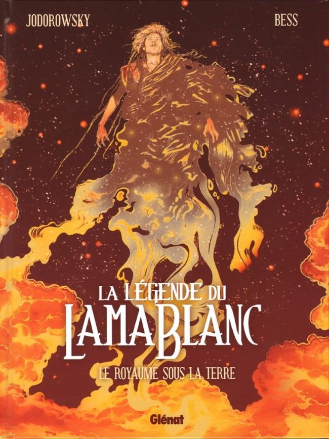 Couverture de La légende du Lama Blanc -3- Le royaume sous la terre