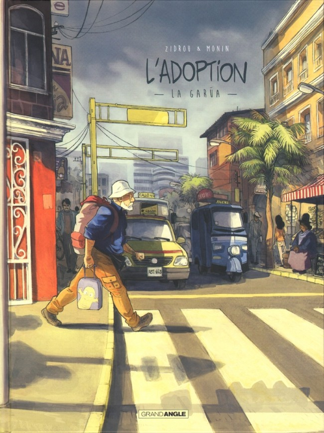 Couverture de L'adoption -2- La Garúa
