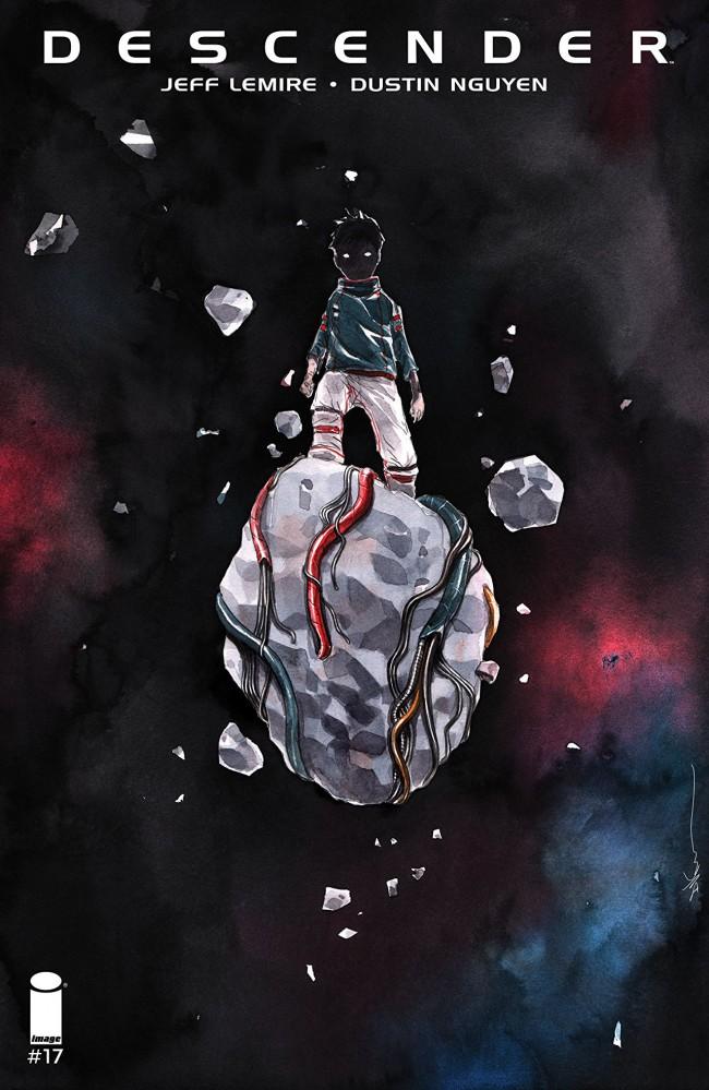 Couverture de Descender (Image comics - 2015) -17- Orbital Mechanics: Part 1 of 5