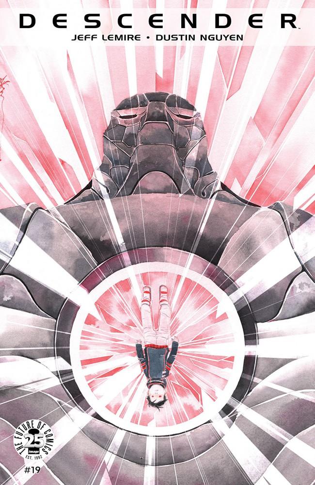 Couverture de Descender (Image comics - 2015) -19- Orbital Mechanics: Part 3 of 5