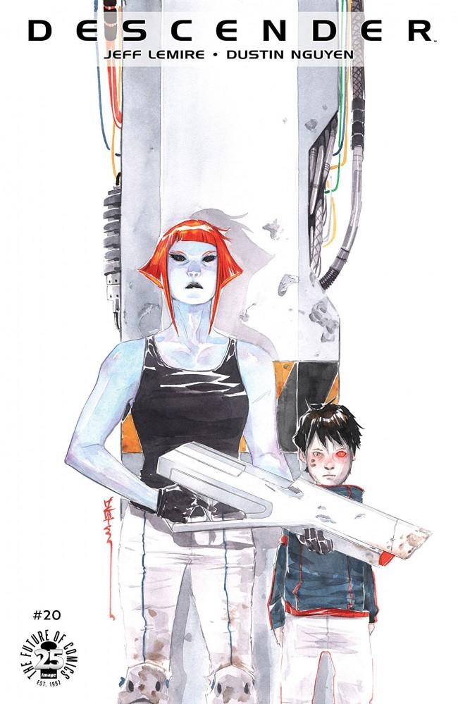 Couverture de Descender (Image comics - 2015) -20- Orbital Mechanics: Part 4 of 5