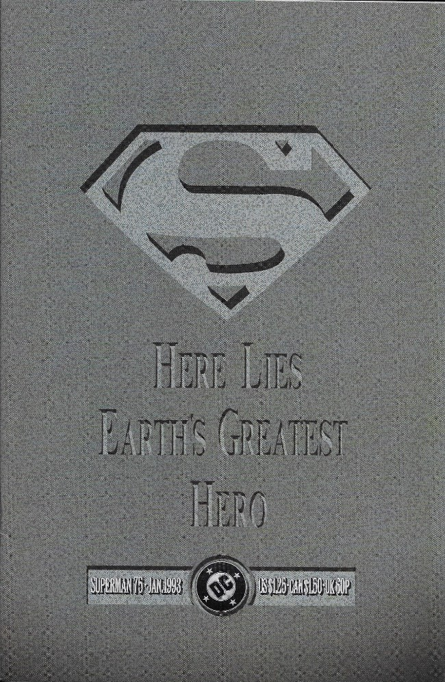 Couverture de Superman Vol.2 (DC comics - 1987) -75- Doomsday!