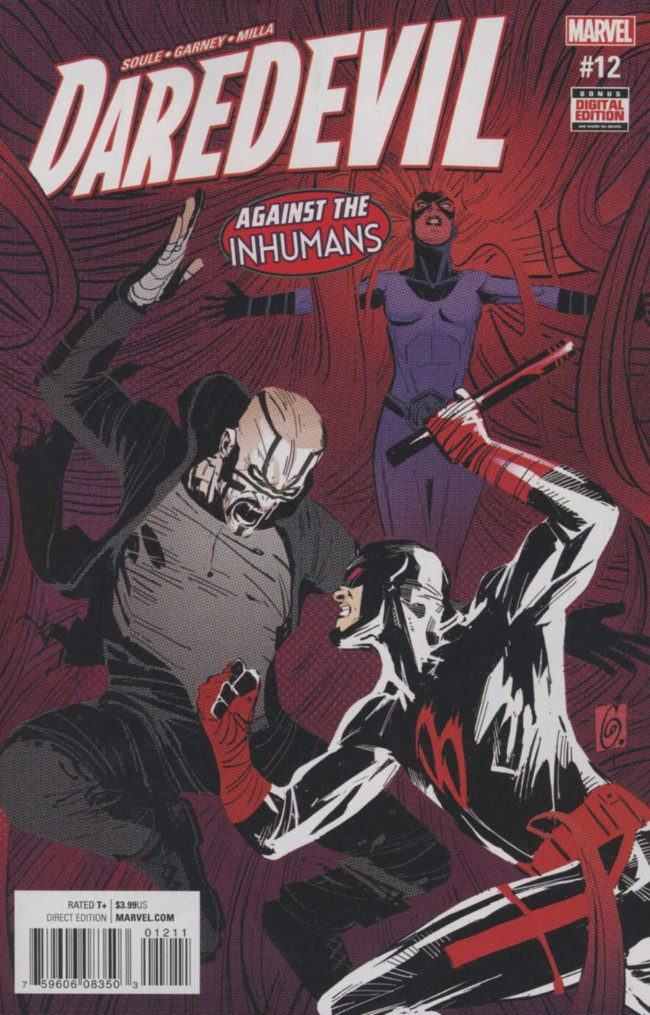 Couverture de Daredevil Vol. 5 (Marvel - 2016) -12- Dark Art - Part 3