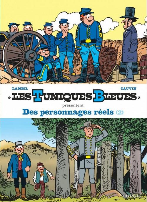 Couverture de Les tuniques Bleues présentent -8- Des personnages réels (2)