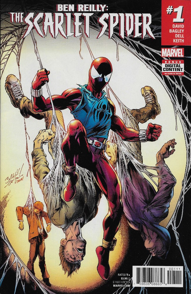 Couverture de Ben Reilly: Scarlet Spider (2017) -1- Issue #1