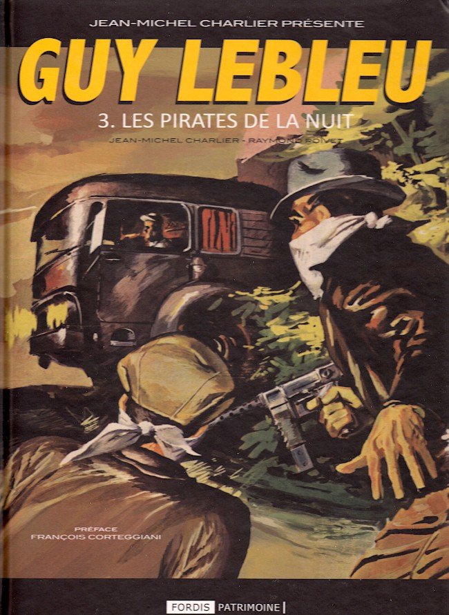 Couverture de Guy Lebleu -3- Les pirates de la nuit