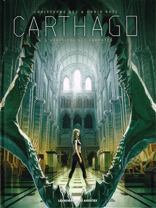 Couverture de Carthago -6- L'héritière des carpates