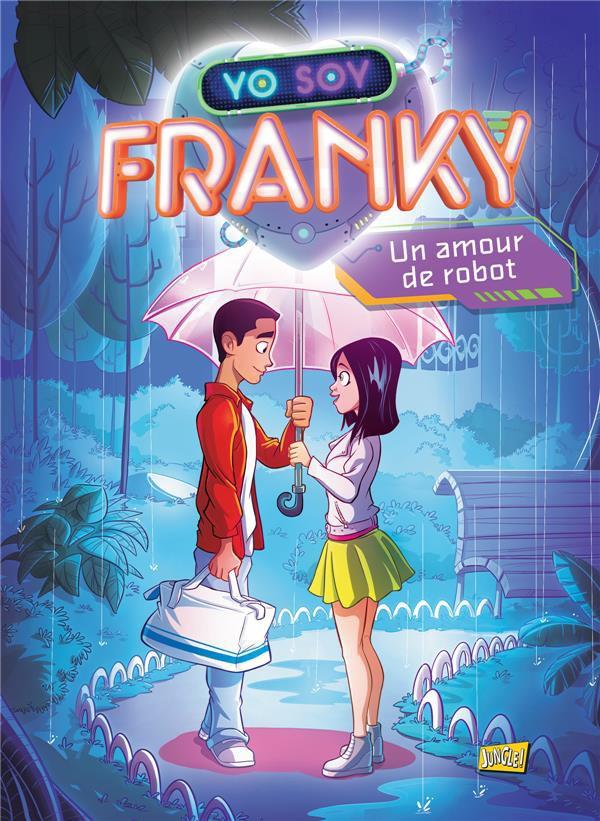 Couverture de Franky -1- Un amour de robot