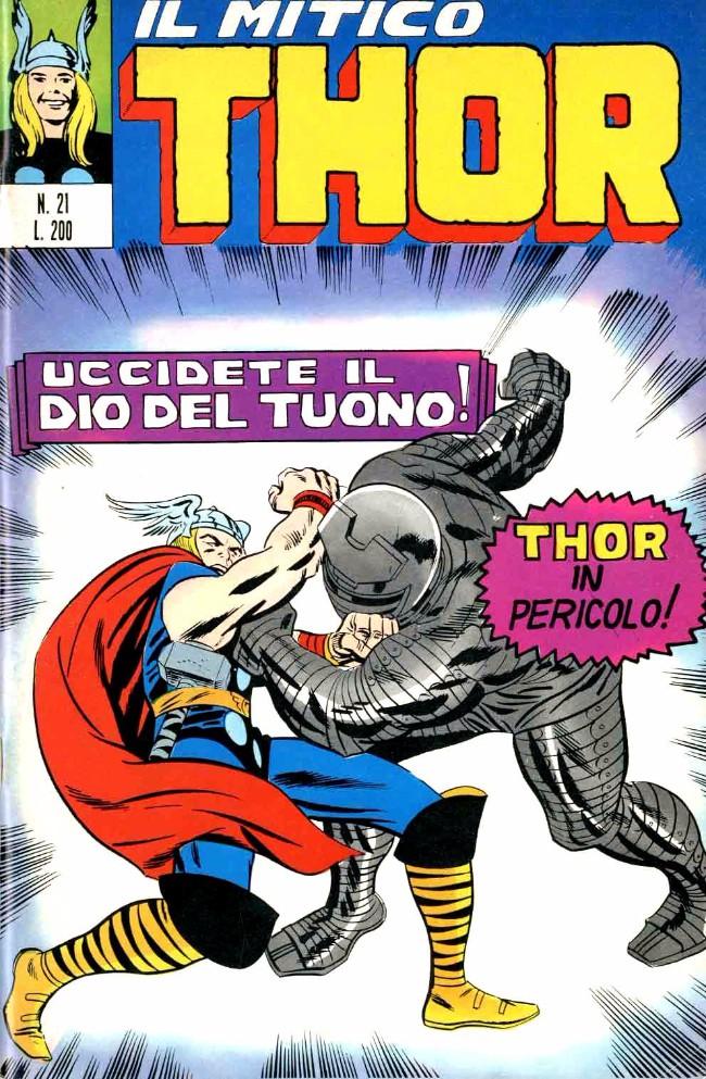 Couverture de MiticoThor (Il) -21- Uccidete il Dio del Tuono!