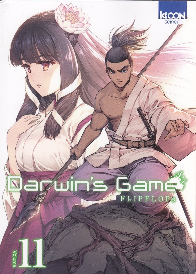 Couverture de Darwin's Game -11- Tome 11