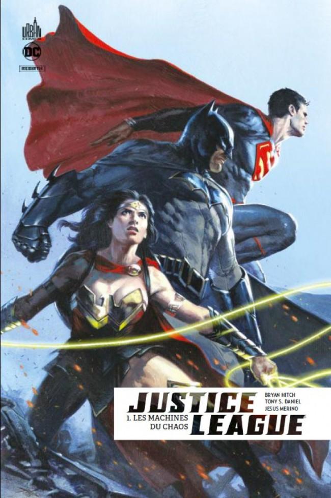 Couverture de Justice League Rebirth -1- Les Machines du chaos