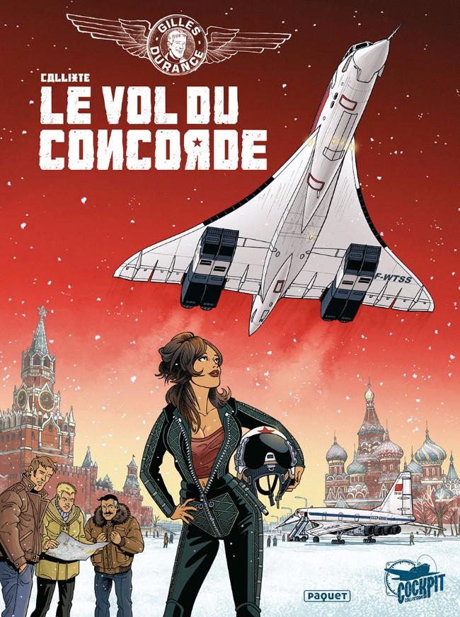 Couverture de Gilles Durance -3- Le vol du Concorde