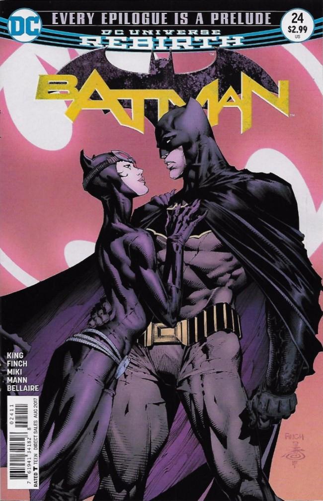 Couverture de Batman (2016) -24- Every epilogue is a prelude
