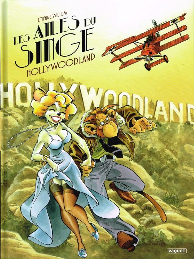 Couverture de Les ailes du singe -2- Hollywoodland