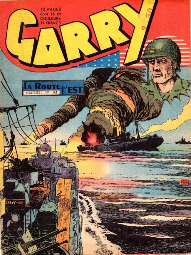Couverture de Garry (sergent) (Imperia) (1re série grand format - 1 à 189) -93- La route de l'Est