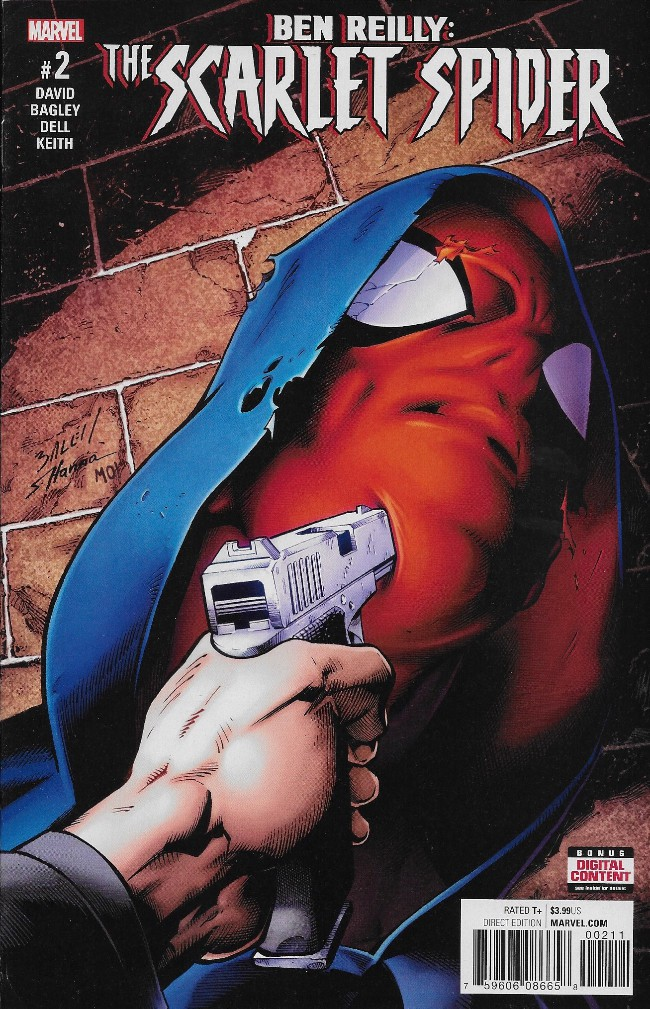 Couverture de Ben Reilly: Scarlet Spider (2017) -2- Issue #2