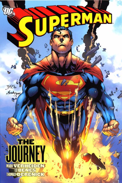Couverture de Superman (TPB) -INT- Superman: The Journey