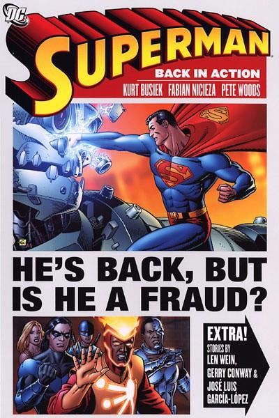 Couverture de Superman (TPB) -INT- Superman: Back in Action